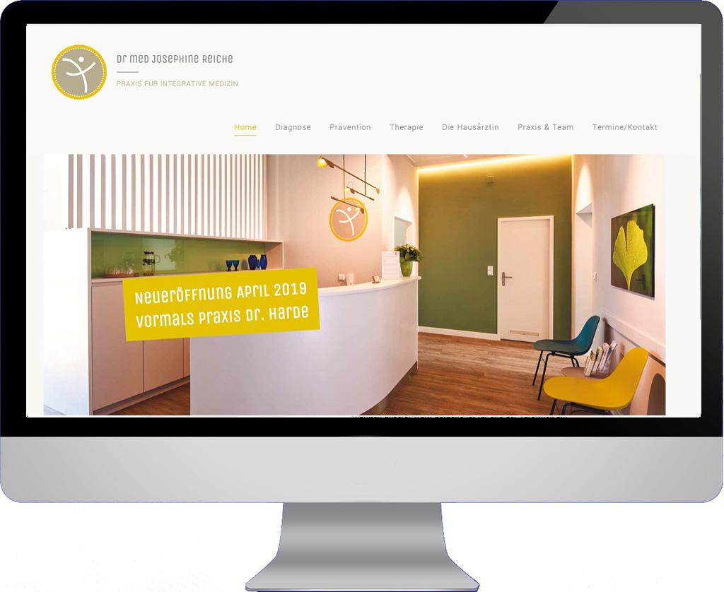 Webseite Dr. Reiche Berlin
